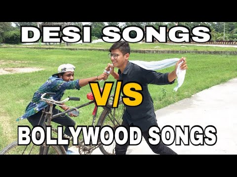 DESI SONGS V/S BOLLYWOOD SONGS -Nakul khatri