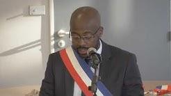 Dieunor Excellent d'origine haitienne, installé comme Maire de Villetaneuse en France