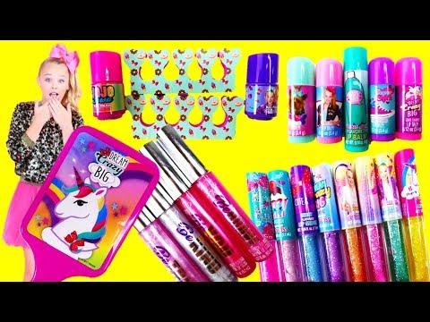 Jojo Siwa Makeup Sets Lip gloss Lip balm Nail Polish