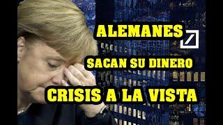 Alemanes Sacan Masivamente su Dinero de los Bancos