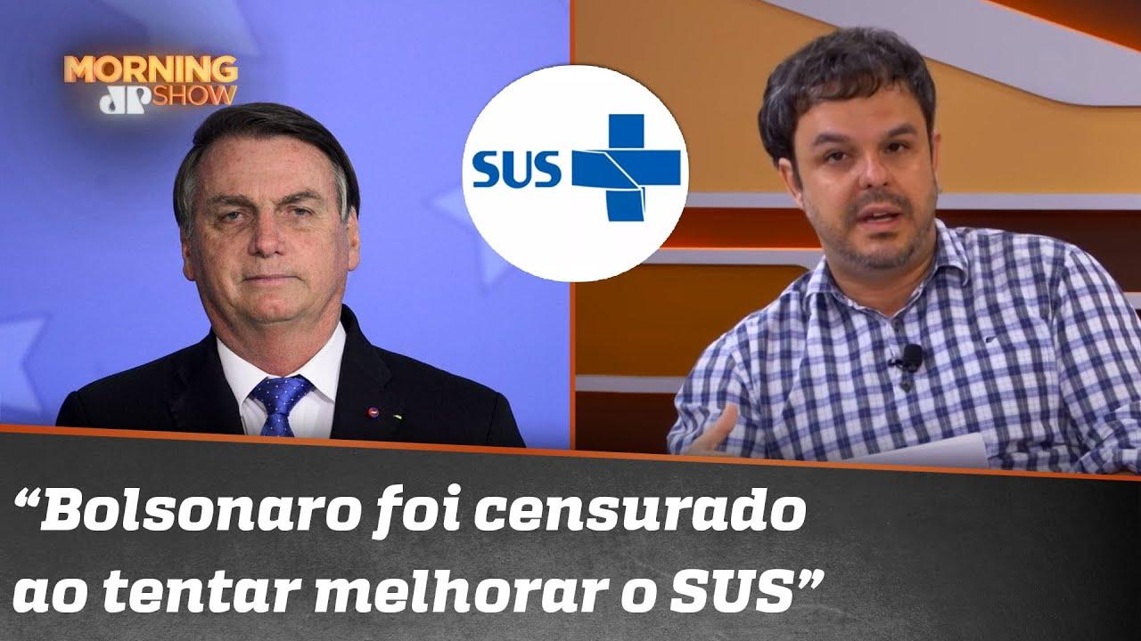Após pressão de políticos, médicos e até da Anitta, Bolsonaro revoga decreto sobre o SUS