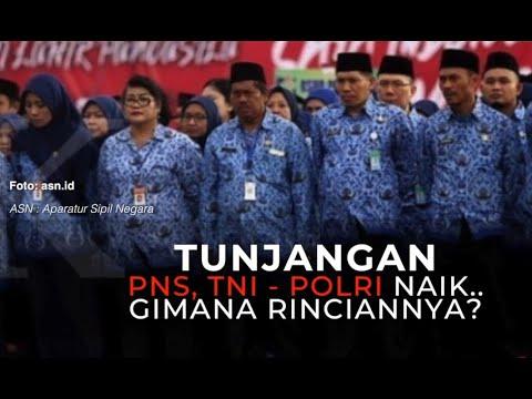 Tunjangan PNS, TNI, dan Polri Naik, Bagaimana Rinciannya?