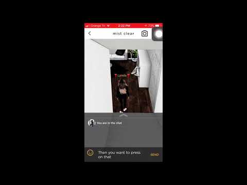 How To Chat Invite Someone On IMVU Mobile