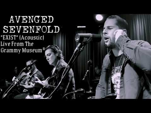 Avenged Sevenfold - Exist  Acoustic   ONLY