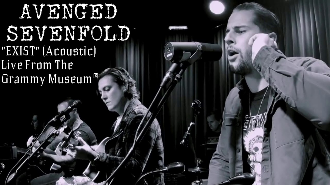 avenged sevenfold exist live acoustic audio only youtube
