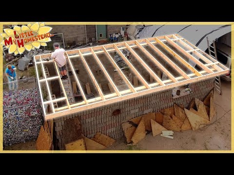 Outbuilding Roof,  Aircrete Test Result & Cabin Appliances  | Weekly Peek Ep183