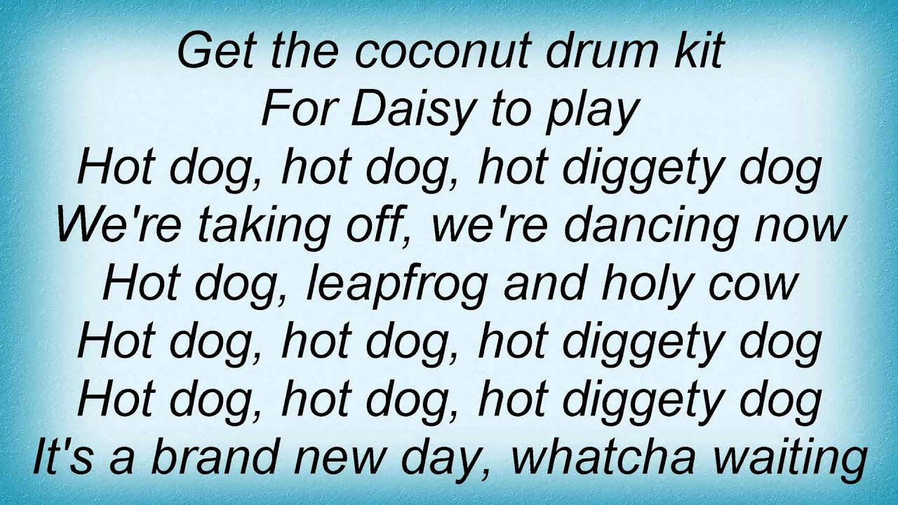 Hot Dog Lyrics They Might Be Giants