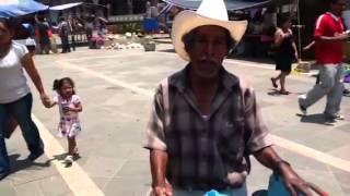 El Pinero en la Fiest en San Pablo huixtepec