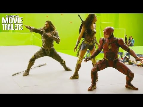 JUSTICE LEAGUE | Go behind the scenes with this end of shoot featurette