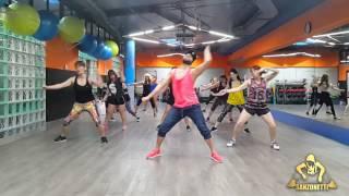 Major Lazer   SUA CARA feat  Anitta & Pabllo Vittar Choreography By Zumba Sanzonetti