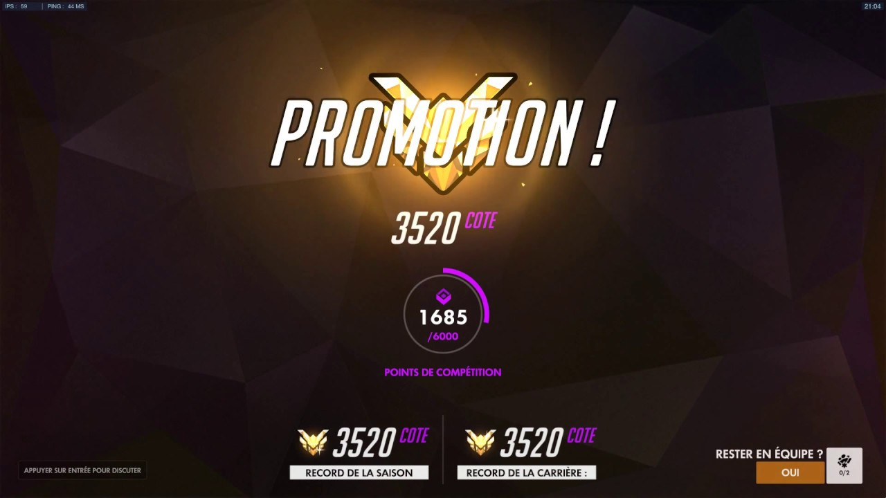 how to get a promotion overwatch