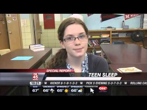Lack of Sleep has Serious Implications for Teens