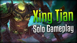 Smite: CAMP ME MORE!- Grove Keeper Xing Tian Solo Gameplay