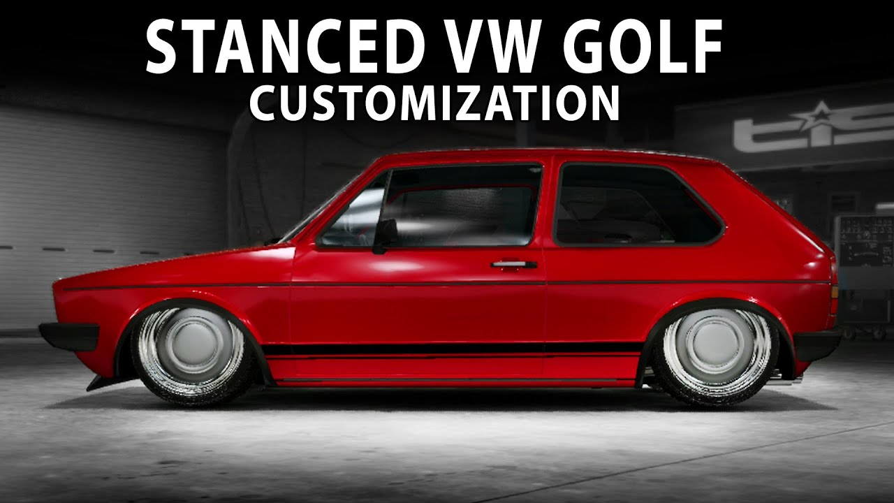 midnight club la slammed vw golf gti 1983 customization youtube. Black Bedroom Furniture Sets. Home Design Ideas