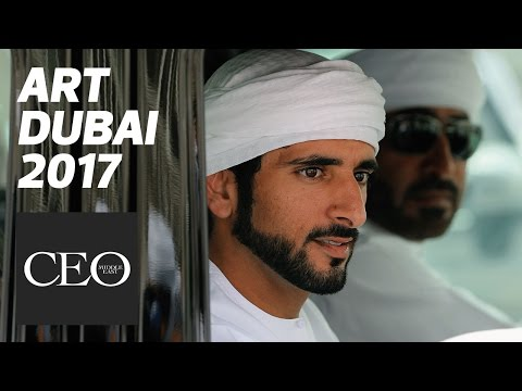 Sheikh Hamdan Dubai Crown Prince visits Art Dubai and Piaget