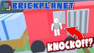 FAKE ROBLOX GAME: BRICK PLANET!