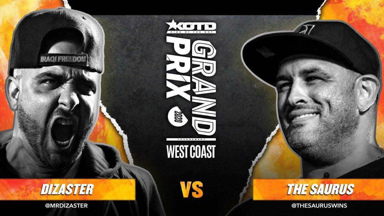 Download KOTD - Rap Battle - Dizaster vs The Saurus II   #GP2020 R2