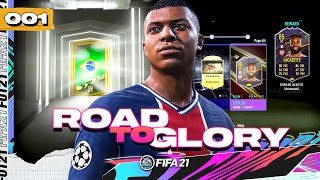 FIFA 21 ROAD TO GLORY #1 - HOW TO START FIFA 21 ULTIMATE TEAM!