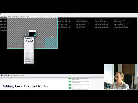 Creating a local screen overlay for streaming (OBS, Linux) – Musing