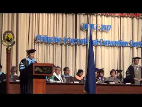 Arellano University Commencement Exercises (Afternoon)