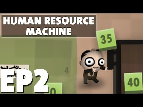 Let's Play Human Resource Machine Episode 2   Jumping Around   Puzzle Programming Game