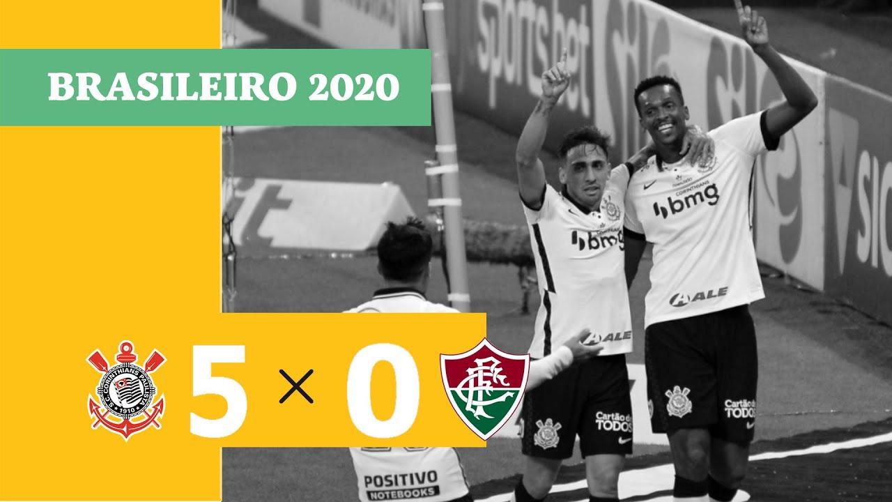Corinthians 5 x 0 Fluminense - Gols - 13/01 - Brasileirão 2020 - YouTube