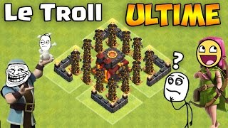 Troll Ultime - Le Village de la MORT ! Clash of Clans