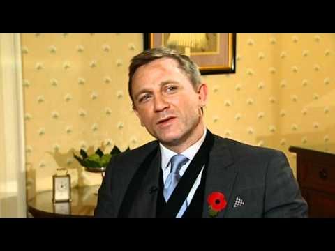 Daniel Craig interview on Quantum of Solace