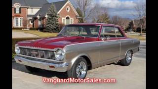 1965 Chevy Nova Custom Classic Muscle Car for Sale in MI Vanguard Motor Sales