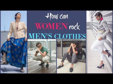 MENSWEAR THAT LOOKS GREAT ON WOMEN/ HOW TO STYLE