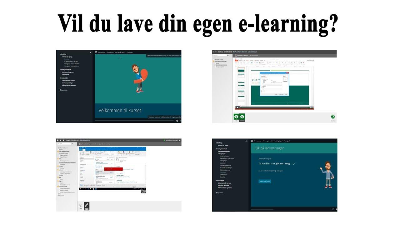83192d3a Forfatterværktøj - Lav din egen e-learning - YouTube