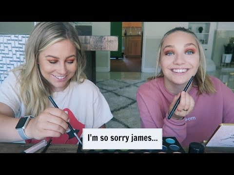 FOLLOWING A JAMES CHARLES MAKEUP LOOK WITH SHAWN JOHNSON