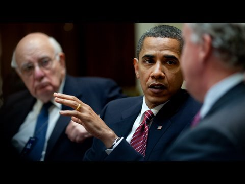 President Obama's Economic Recovery Board: First Meeting