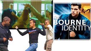 JASON BOURNE Fighting Style | Bourne Identity Embassy Fight Scene