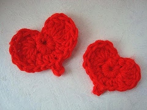 Easiest crochet heart how to crochet a heart for valentines