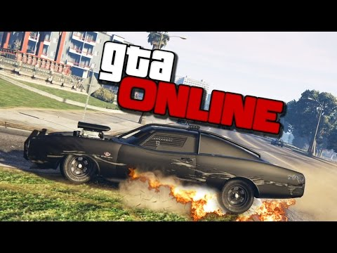 GTA ONLINE - УГАРНЫЙ КРАШ ТЕСТ DUKE O'DEATH #314