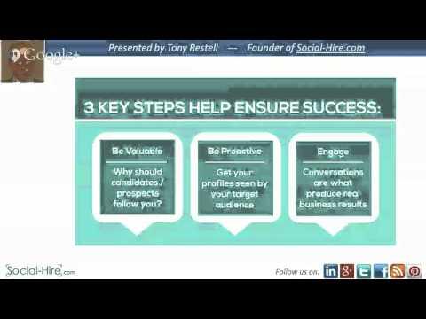 Social Media: Building a Strong Recruiting Brand Presence (and avoiding the pitfalls!)