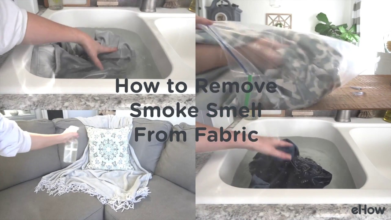 How to Remove Smoke Smell from Fabric