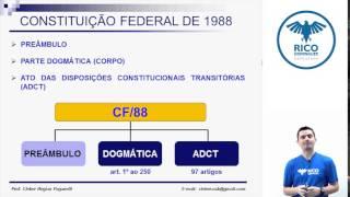 Direito Constitucional: Estrutura da Constituição Federal de 1988