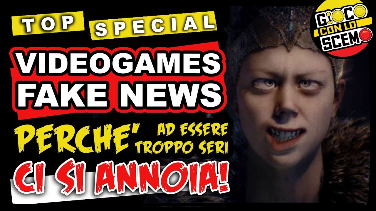 Top VideoGame Fake News - The Show 2.Scemo