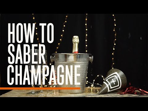 Ready In 60: How to Saber Champagne