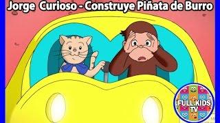 Jorge el Curioso en Español - Jorge Construye una Piñata de Burro por Dia de la Madre