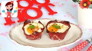 Fırında Pastırmalı Yumurta Tarifi - Kevserin Mutfağı - Yemek Tarifleri