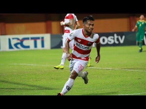 HIGHLIGHT Madura United FC [5] vs [0] Sriwijaya FC   Piala Indonesia 2019