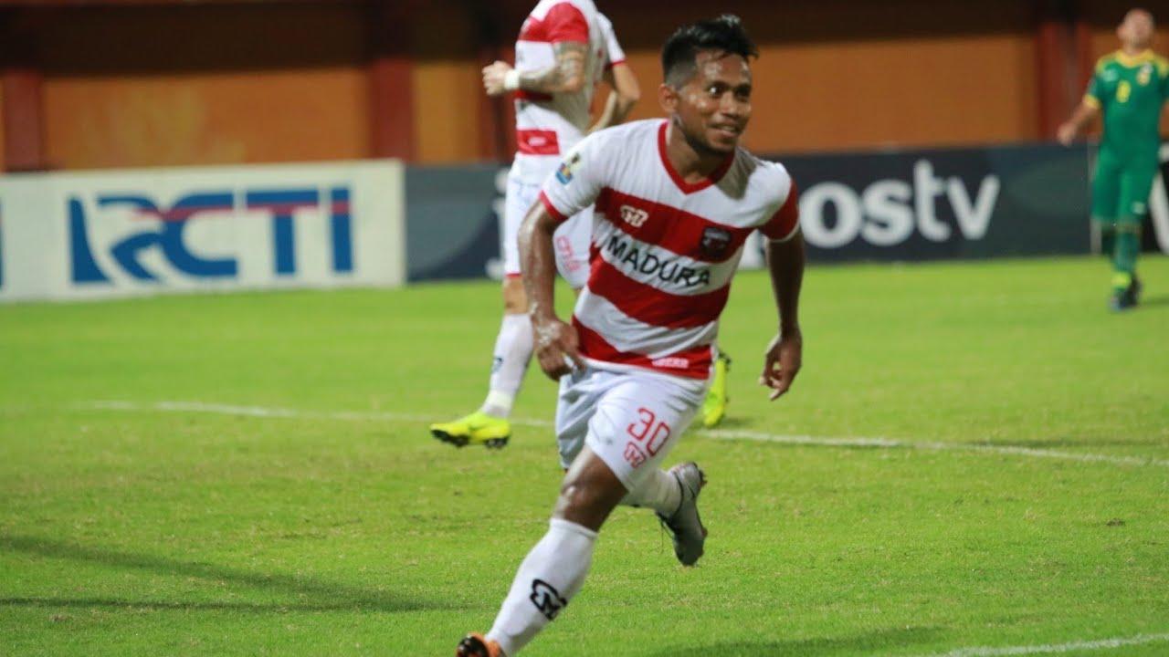 HIGHLIGHT Madura United FC [5] vs [0] Sriwijaya FC | Piala