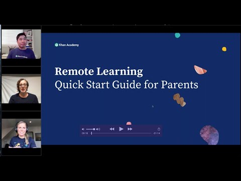 Getting Started with Khan Academy and Khan Academy Kids for Remote Learning