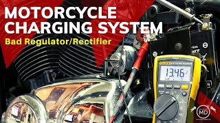 Motorcycle Charging System: Bad Regulator/Rectifier