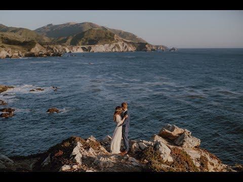 Rocky Point Restaurant Wedding // Big Sur CA // Catalina Jean Photography
