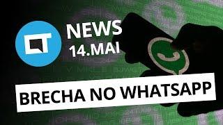 Brecha no WhatsApp afeta usuários; Novidades da Huawei e + [CT News]