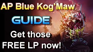 AP Blue Kog'Maw Guide - The Vomitting Spitting What-The-Shit Monster - League of Legends